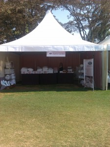 Feather Comfort stand at the St John's Fair 2015